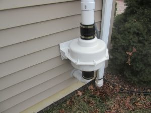 Radon mitigation system in Morganville, NJ